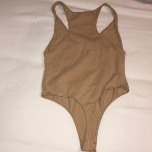 American Apparel Tops - American Apparel Nude Thong Body suit